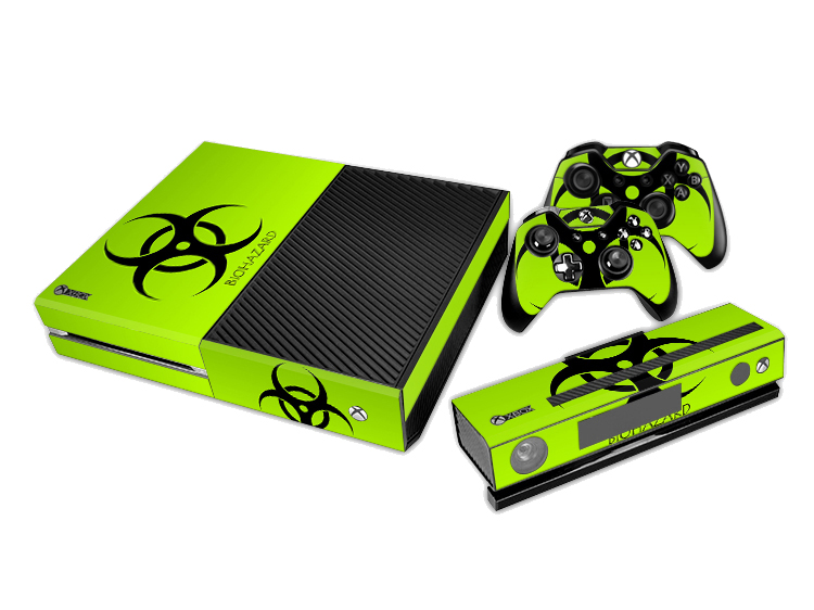 Decal Skin Sticker Xbox One – Biologic Risk
