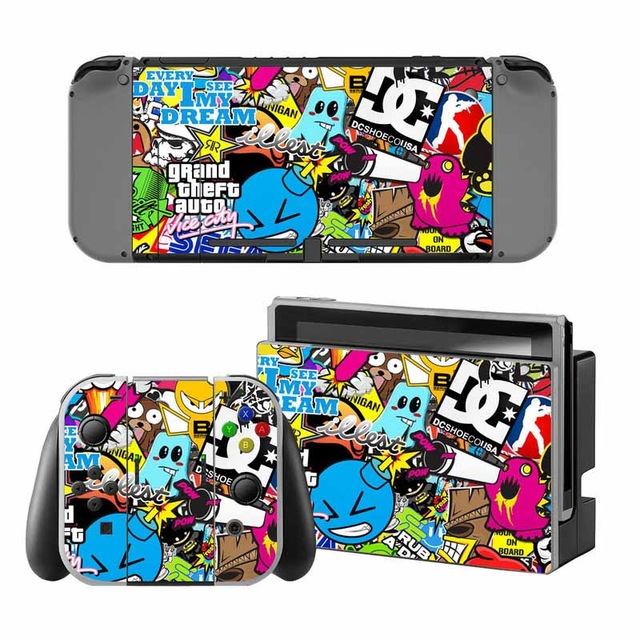 Skin Sticker vinyl Nintendo Switch