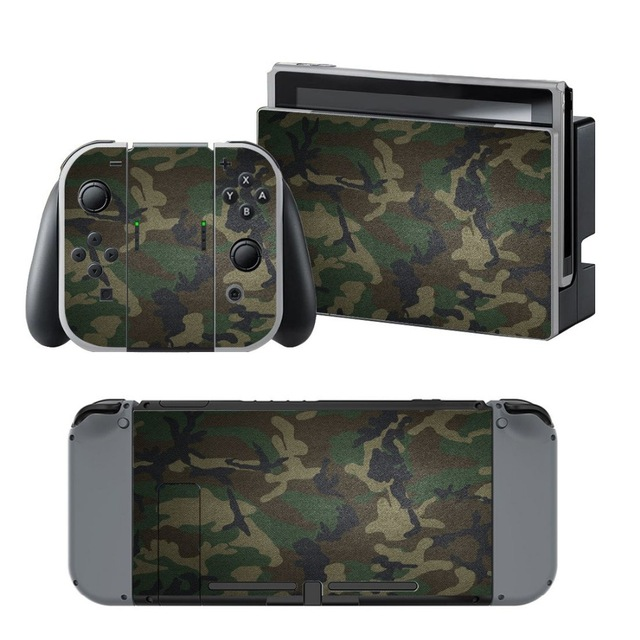 Skin Sticker vinyl Nintendo Switch – Army Camouflage