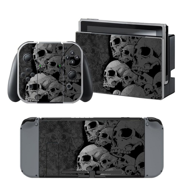Skin Sticker vinyl Nintendo Switch – Skulls